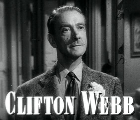 Clifton Webb (Scorpio)