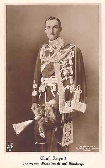 Duke of Brunswick Ernst August
