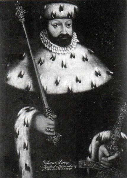 Elector of Brandenburg Johann Cicero