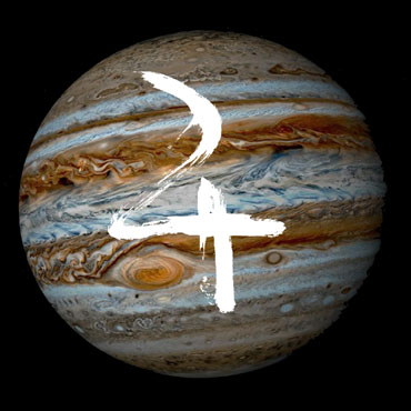 Jupiter in Virgo from September 2015, bringing good fortune.