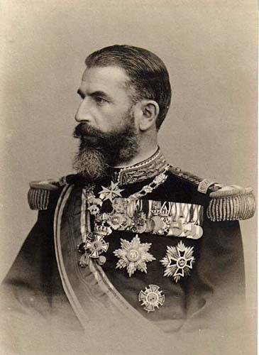 King of Romania Carol I