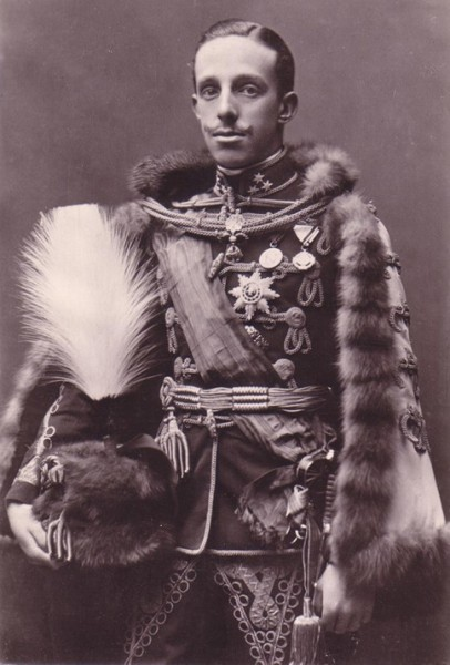 King of Spain Alfonso XIII