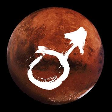 Mars in Scorpio.