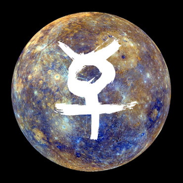 Mercury in Taurus.