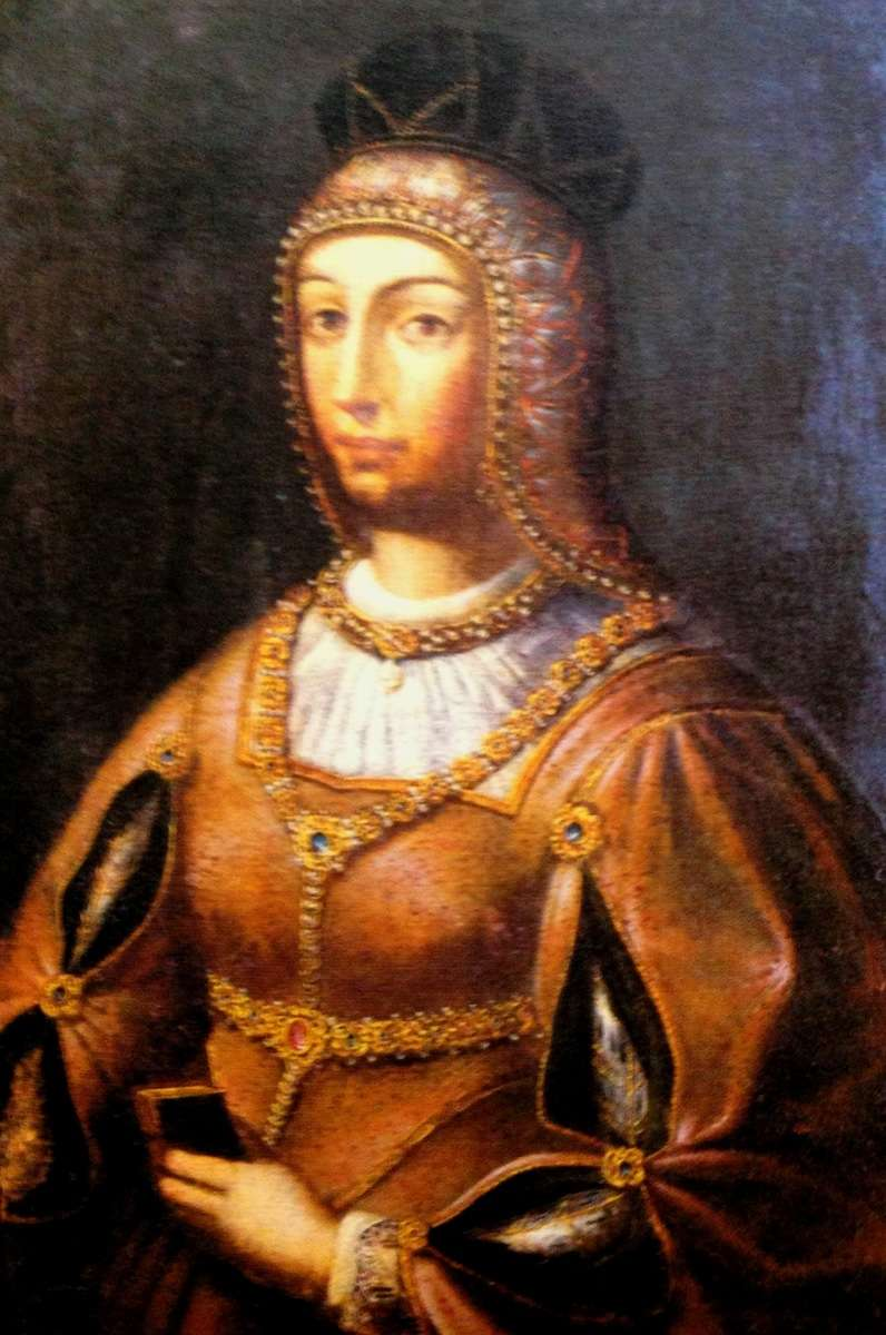 Queen Consort of Portugal Maria of Aragon (Cancer)