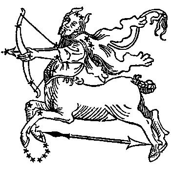 Sagittarius, the Archer.