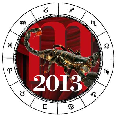 Scorpio 2013 Horoscope