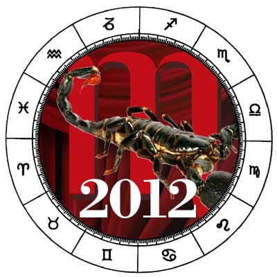 Scorpio 2012 horoscope.