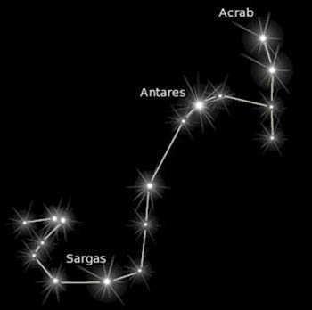 Scorpio Symbol Zodiac Sign Astrology