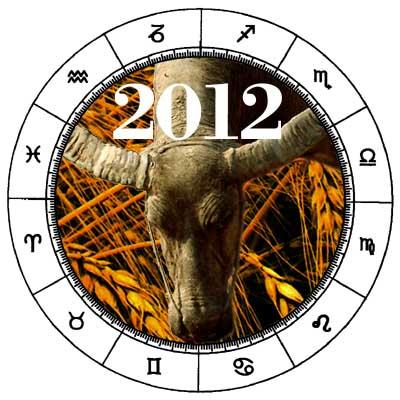 2012 Taurus Horoscope.