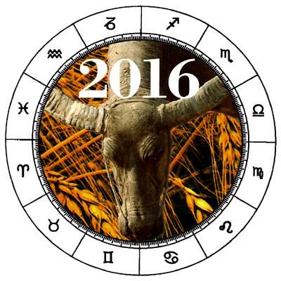 Taurus 2016 Horoscope